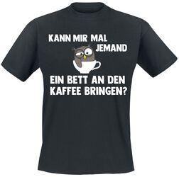 Bett an den Kaffee