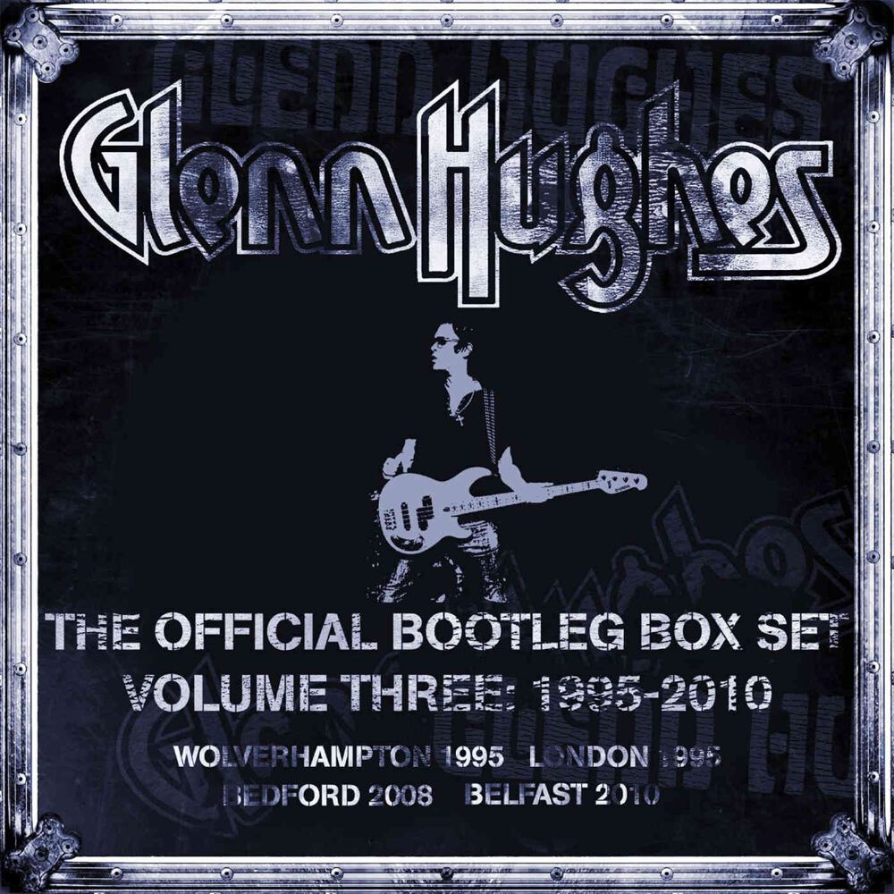Image of Glenn Hughes The official bootleg boxset Vol.3 6-CD Standard