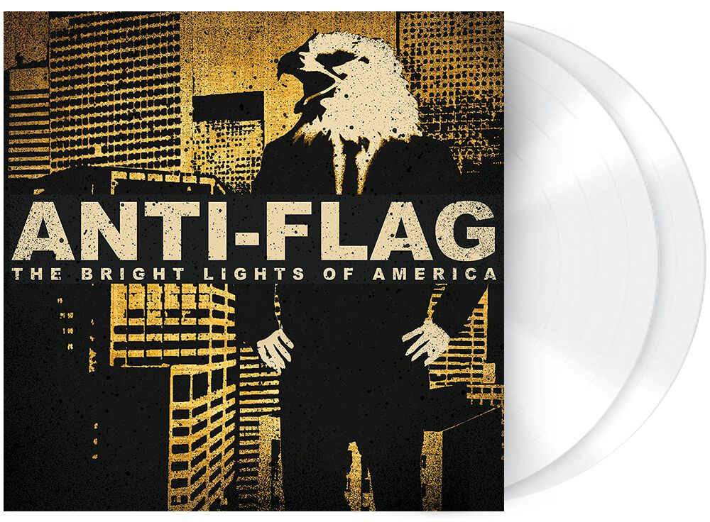 Image of Anti-Flag The bright lights of America 2-LP weiß