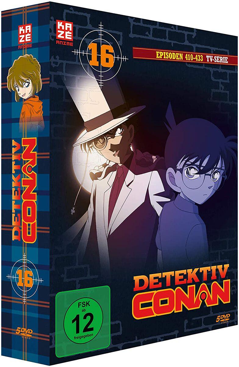 Image of Detektiv Conan Die TV-Serie - 5. Staffel - Box 16 - Episoden 410-433 5-DVD Standard