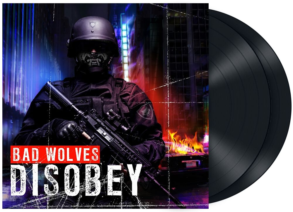 Image of Bad Wolves Disobey 2-LP Standard
