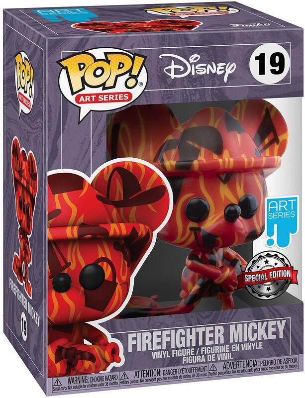 Firefighter Mickey (Art Series) (mit Protektorbox) Vinyl Figur 19