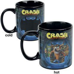 Crash - Tasse mit Thermoeffekt
