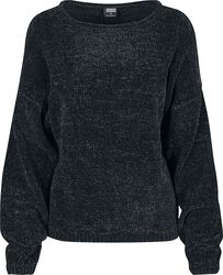 Ladies Oversize Chenille Sweater