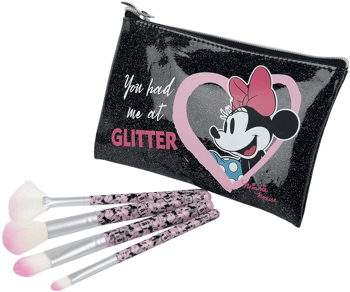 Mickey Mouse Minnie Makeup brush silver coloured | Onesize