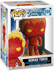 Human Torch Vinyl Figur 559