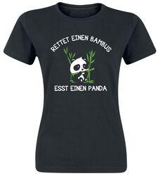 Rettet einen Bambus - Esst einen Panda