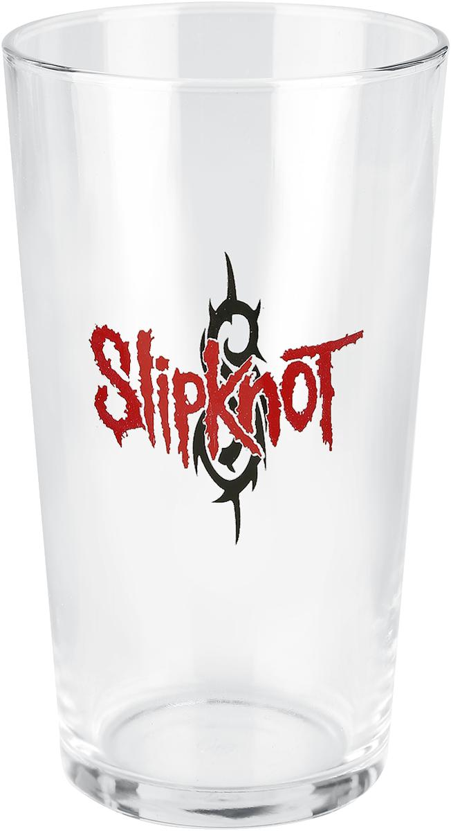 Slipknot - Slipknot Logo - Pint-Glas - klar