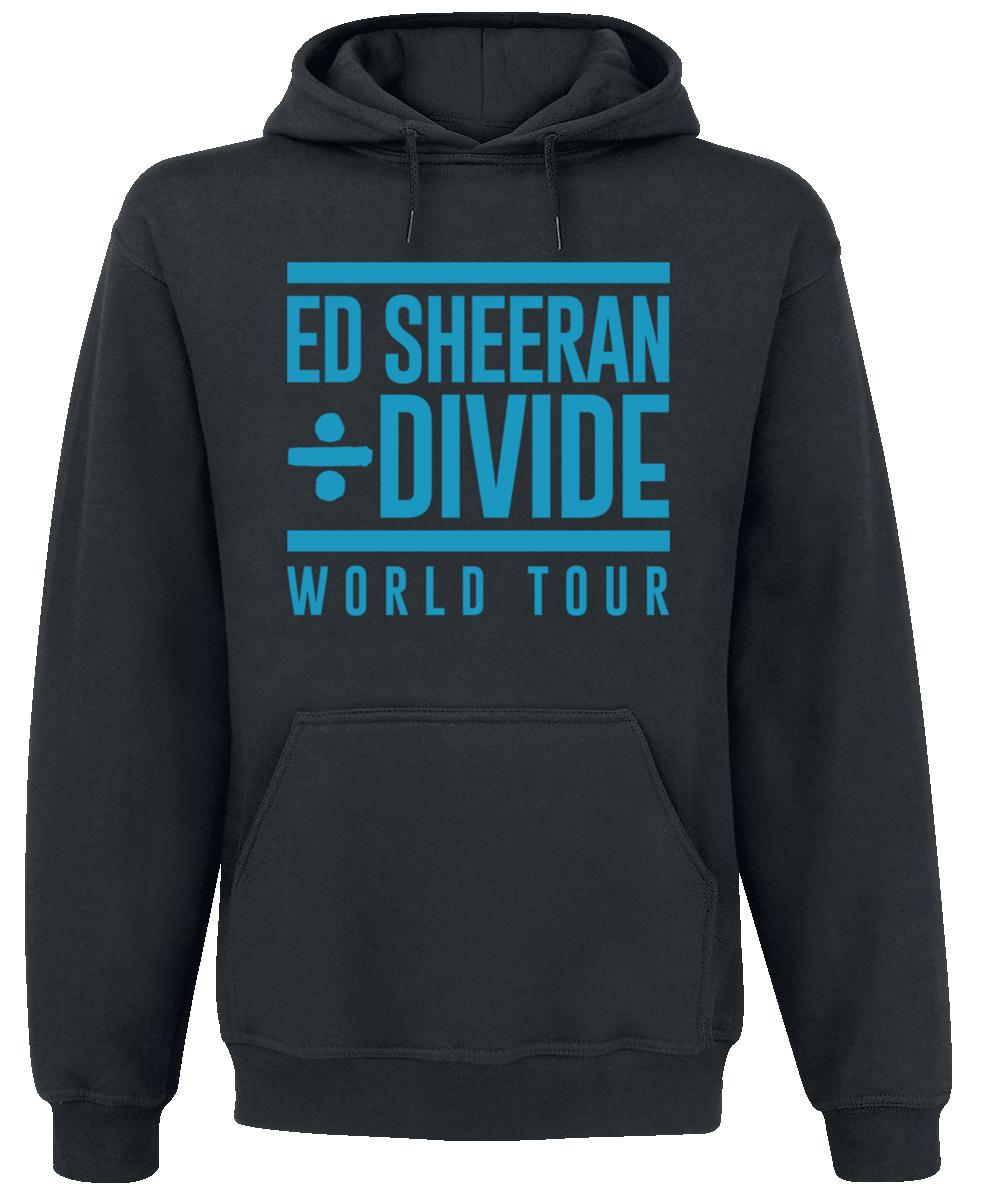 Ed Sheeran - Divide Label Stamp - Hooded sweatshirt - black image