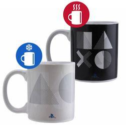 PS5 - Tasse mit Thermoeffekt