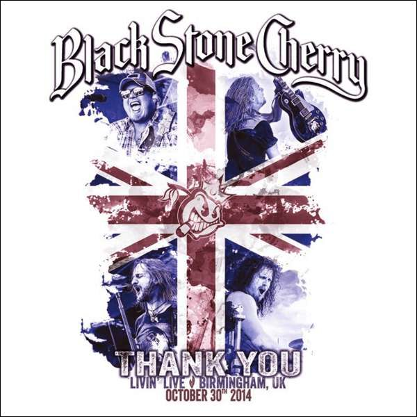 Image of Black Stone Cherry Thank you - Livin' Live, Birmingham CD & Blu-ray Standard