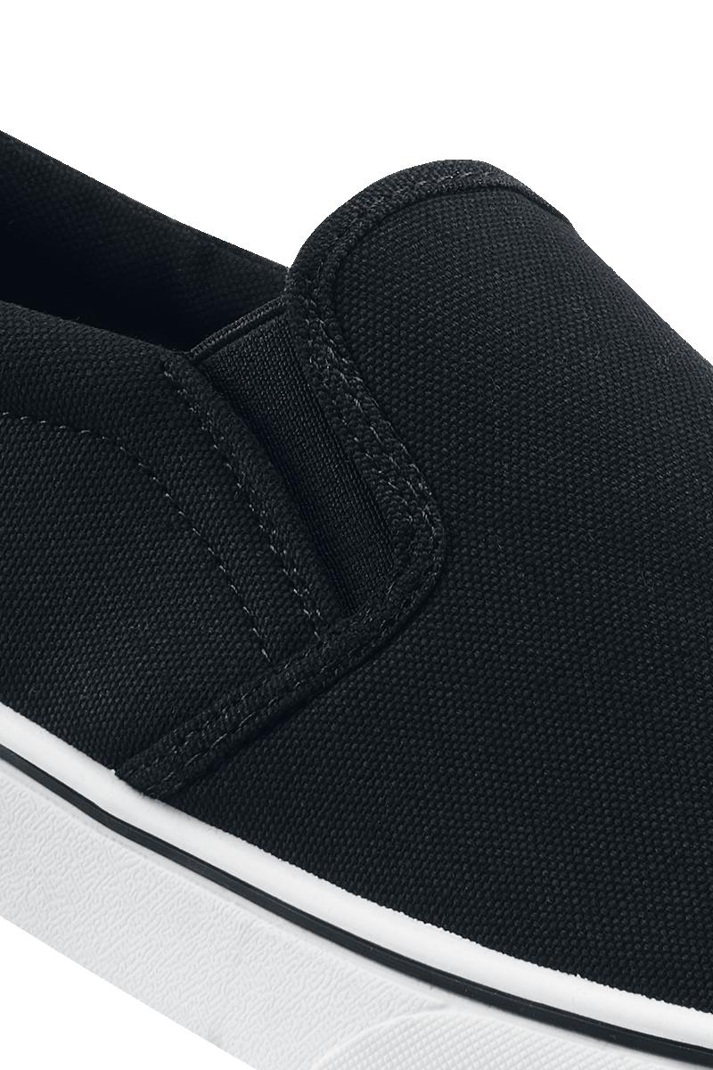Image of Brandit Southampton Slip On Sneaker Sneaker schwarz/weiß