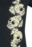 Tres Skull Ladies T-Shirt