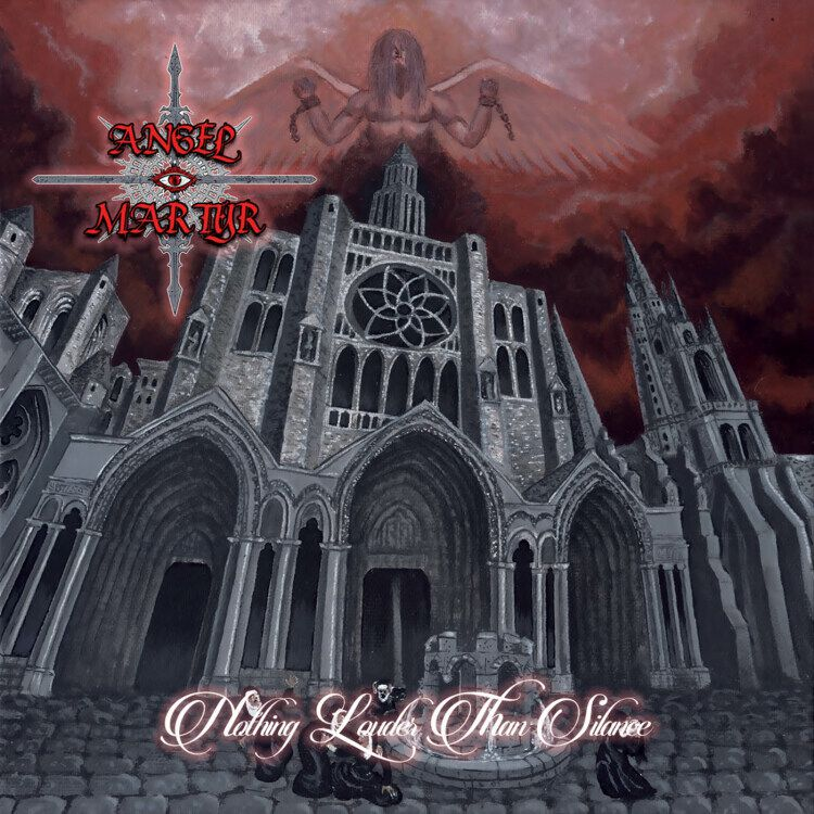 Image of Angel Martyr Nothing louder than silence CD Standard