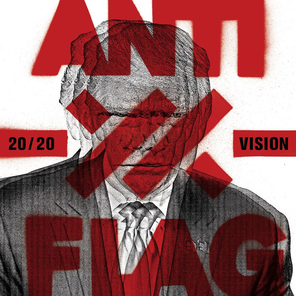 Image of Anti-Flag 20/20 Vision CD Standard