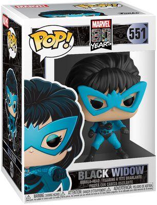 Marvel Classics 80th - Black Widow (First Appearance) Vinyl Figur 551