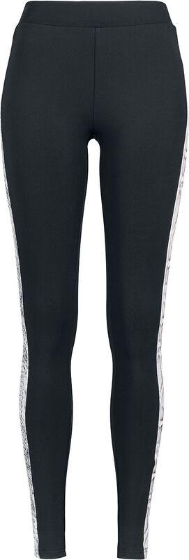 Ladies Side Striped Cobra Leggings