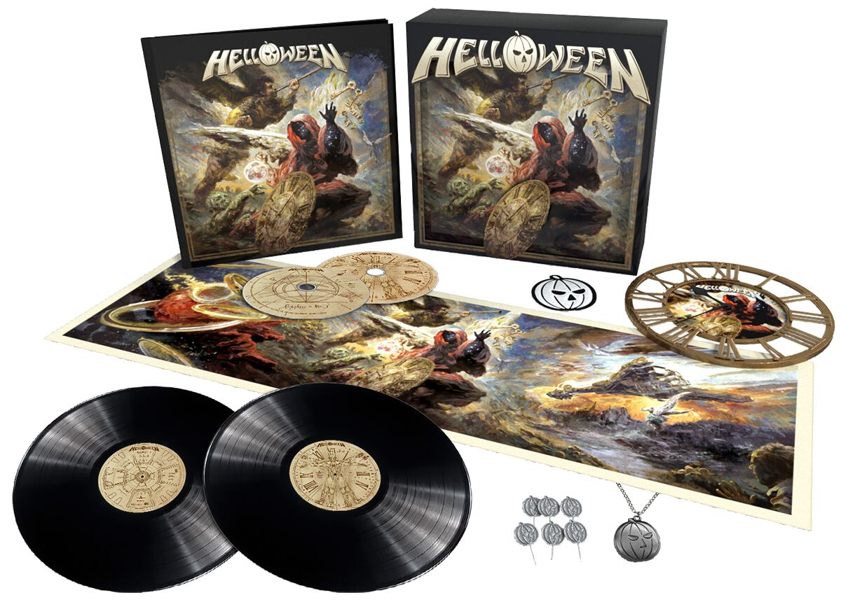 Image of Helloween Helloween 2-CD & 2-LP Standard
