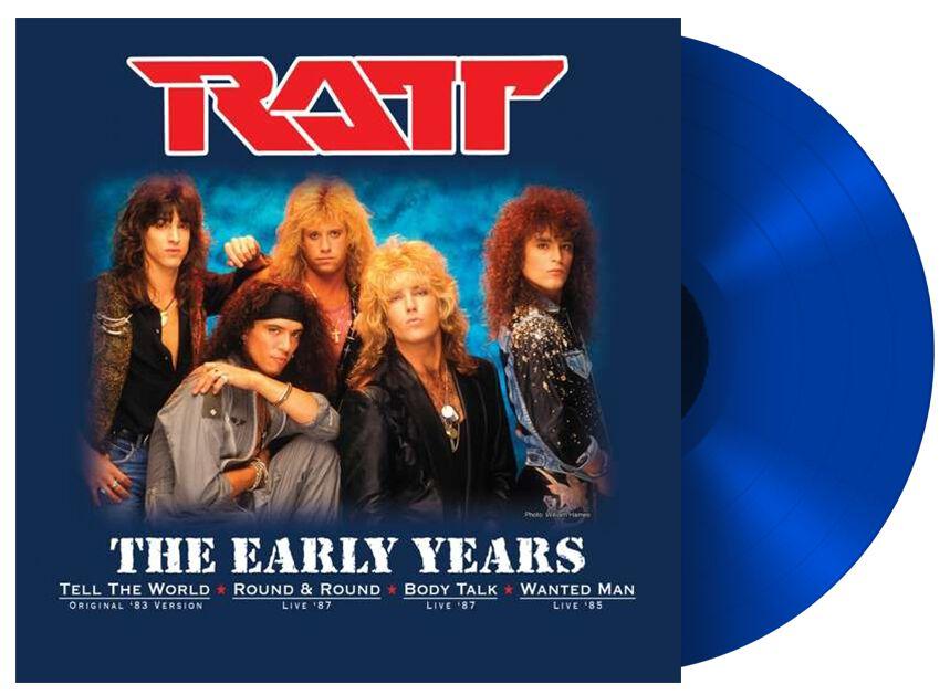 Image of Ratt The early years 10 inch-EP blau