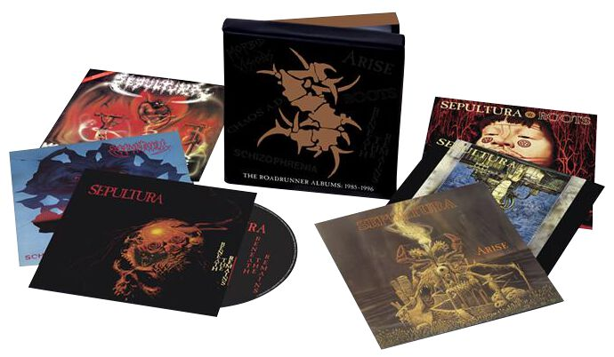 Image of Sepultura The complete albums 6-CD Standard