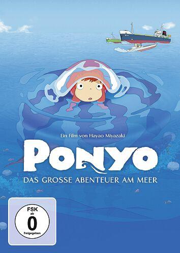 Ponyo - Das große Abenteuer am Meer Studio Ghibli - Ponyo - Das große Abenteuer am Meer DVD multicolor 88697839689