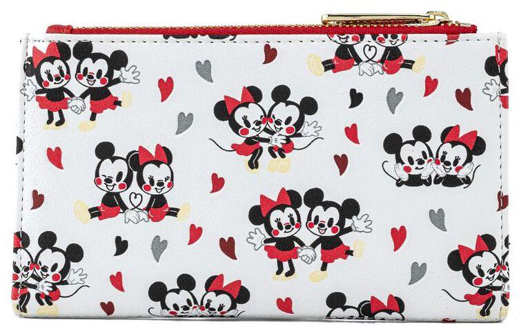Micky Maus - Loungefly - Mickey und Minnie Love - Geldbörse - multicolor