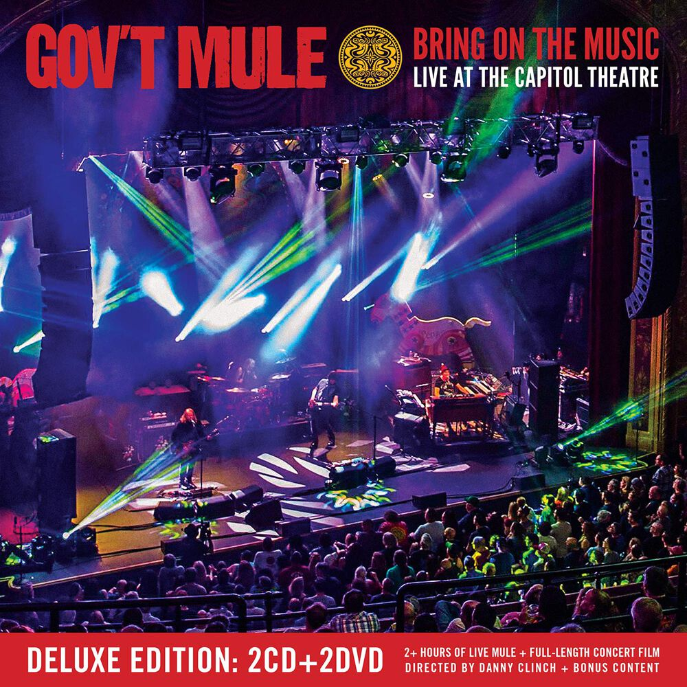Image of Gov't Mule Bring on the music - Live at the Capitol Theatre 2-CD & 2-DVD Standard