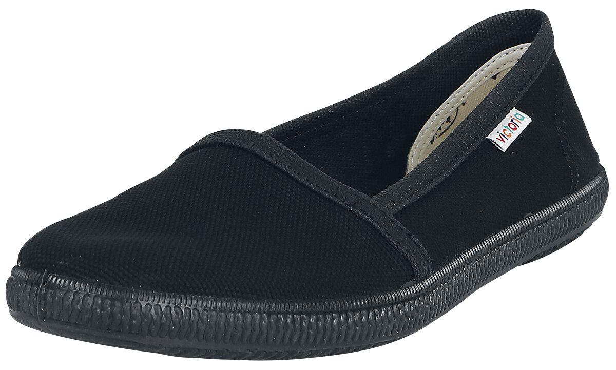 Sneakers für Frauen - Victoria Camping Lona Soft Sneaker schwarz  - Onlineshop EMP