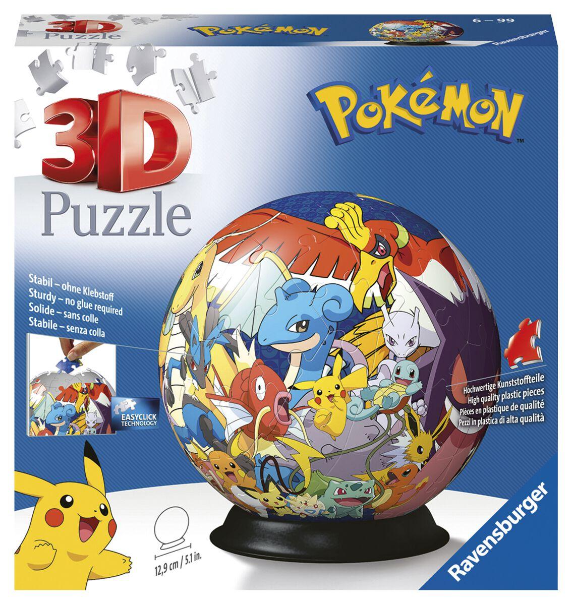 Pokémon Pokémon Puzzle-Ball Puzzle multicolor 11785