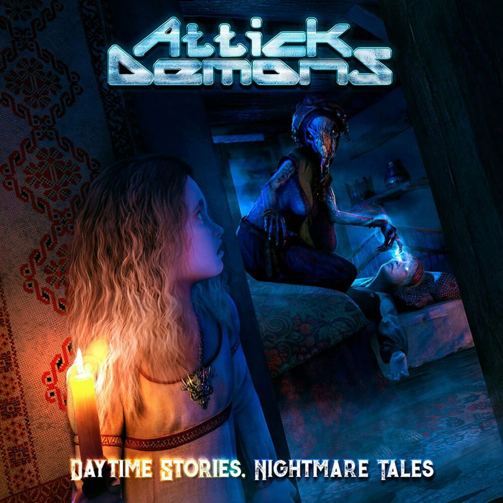 Image of Attick Demons Daytime stories, nightmare tales CD Standard