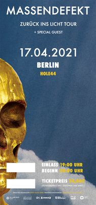 Zurück ins Licht - Berlin - 17.04.2021 - Hole 44