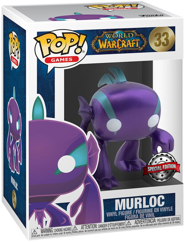 Murloc (Blizzard 30th) (Metallic) Vinyl Figur 33