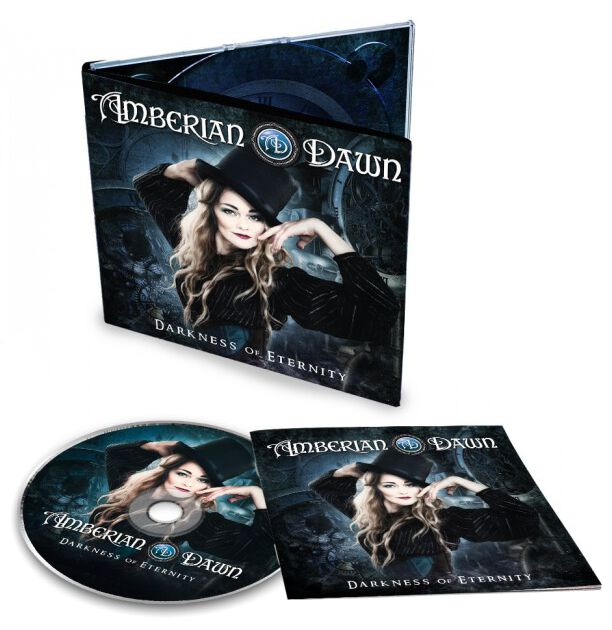 Image of Amberian Dawn Darkness of eternity CD Standard