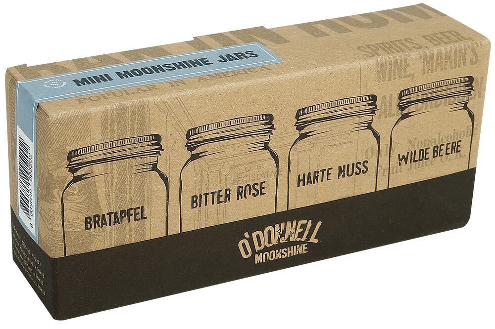 Set Mini Moonshine Jars (4x50ml)