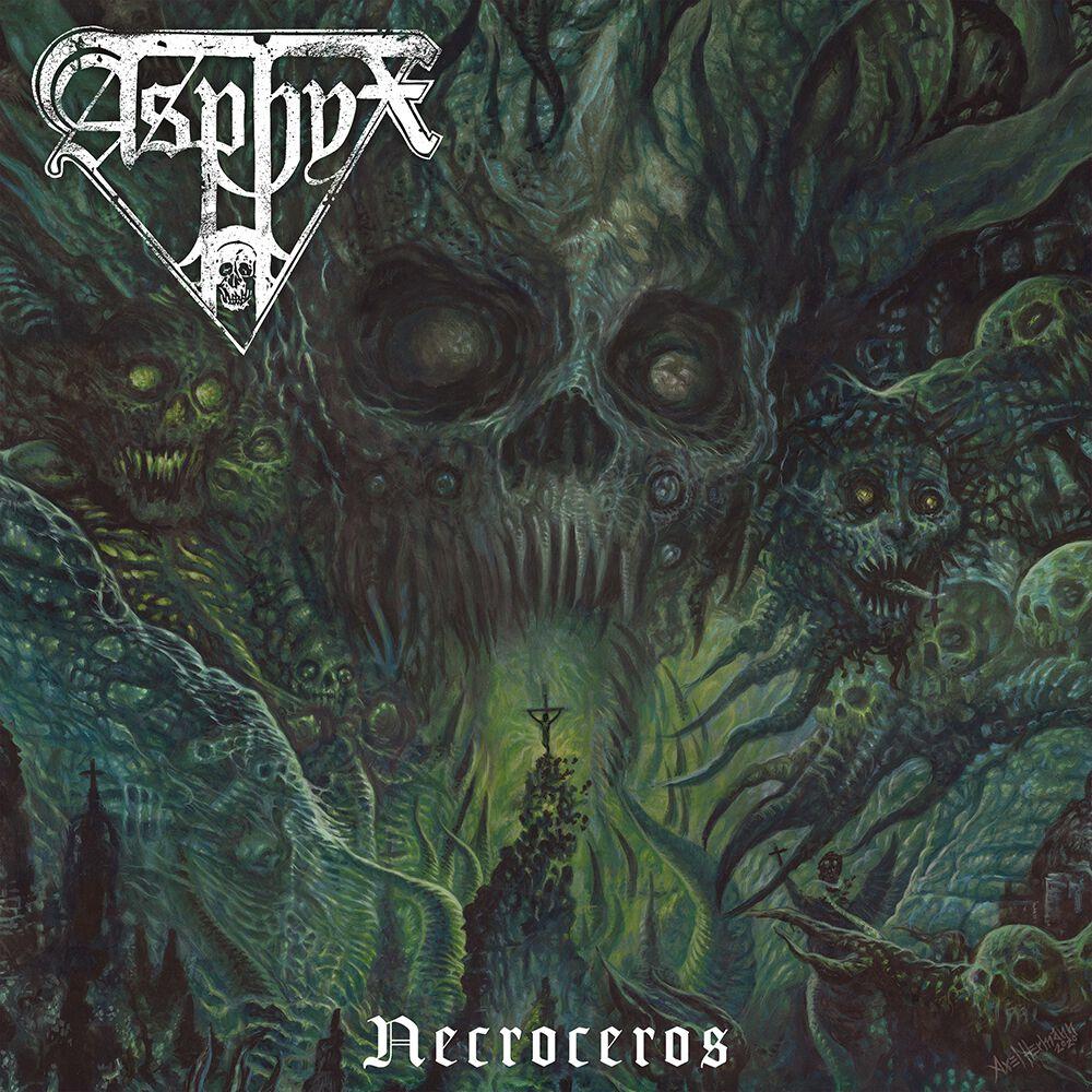 Image of Asphyx Necroceros CD Standard
