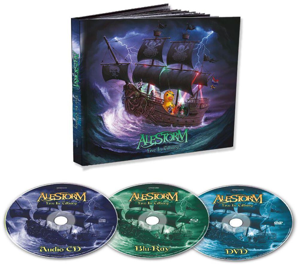 Image of Alestorm Live in Tilburg CD & DVD & Blu-ray Standard