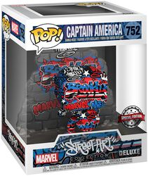 Captain America (Graffitti Deco) (Super Pop!) Vinyl Figur 752