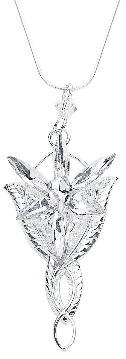 Der Herr der Ringe - Abendstern Replica - Halskette - silberfarben