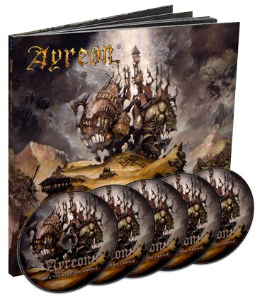 Image of Ayreon Into the electric castle 4-CD & DVD Standard