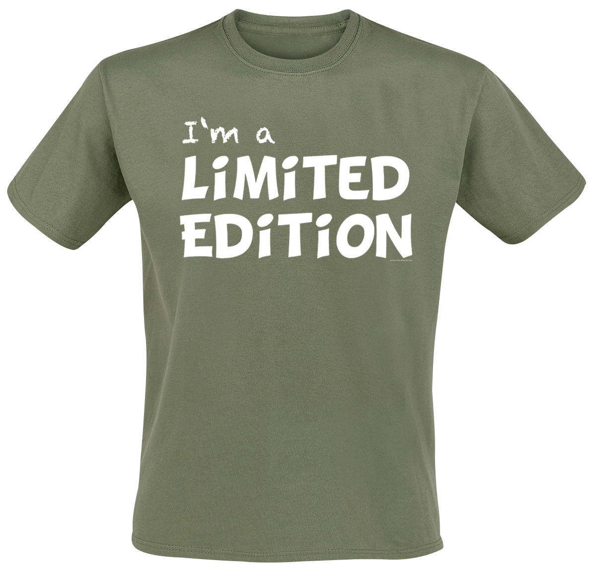 I'm A Limited Edition -  - T-Shirt - olive image