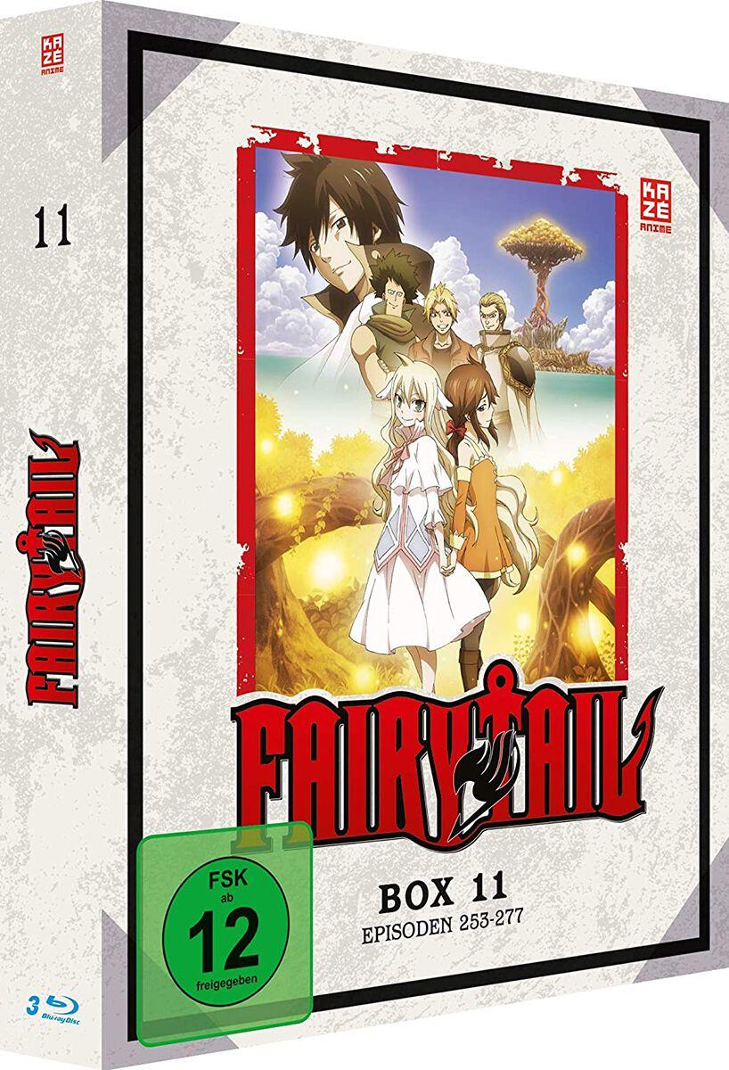Fairy Tail Box 11 - Episoden 253-277  Blu-Ray  Standard