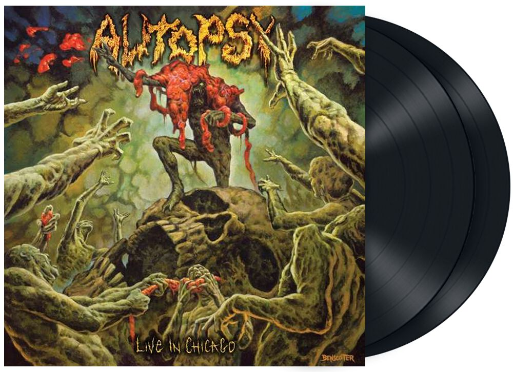 Image of Autopsy Live in Chicago 2-LP Standard