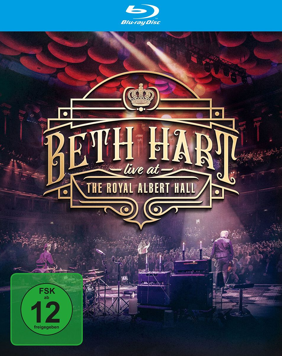 Image of Beth Hart Live at the Royal Albert Hall Blu-ray Standard