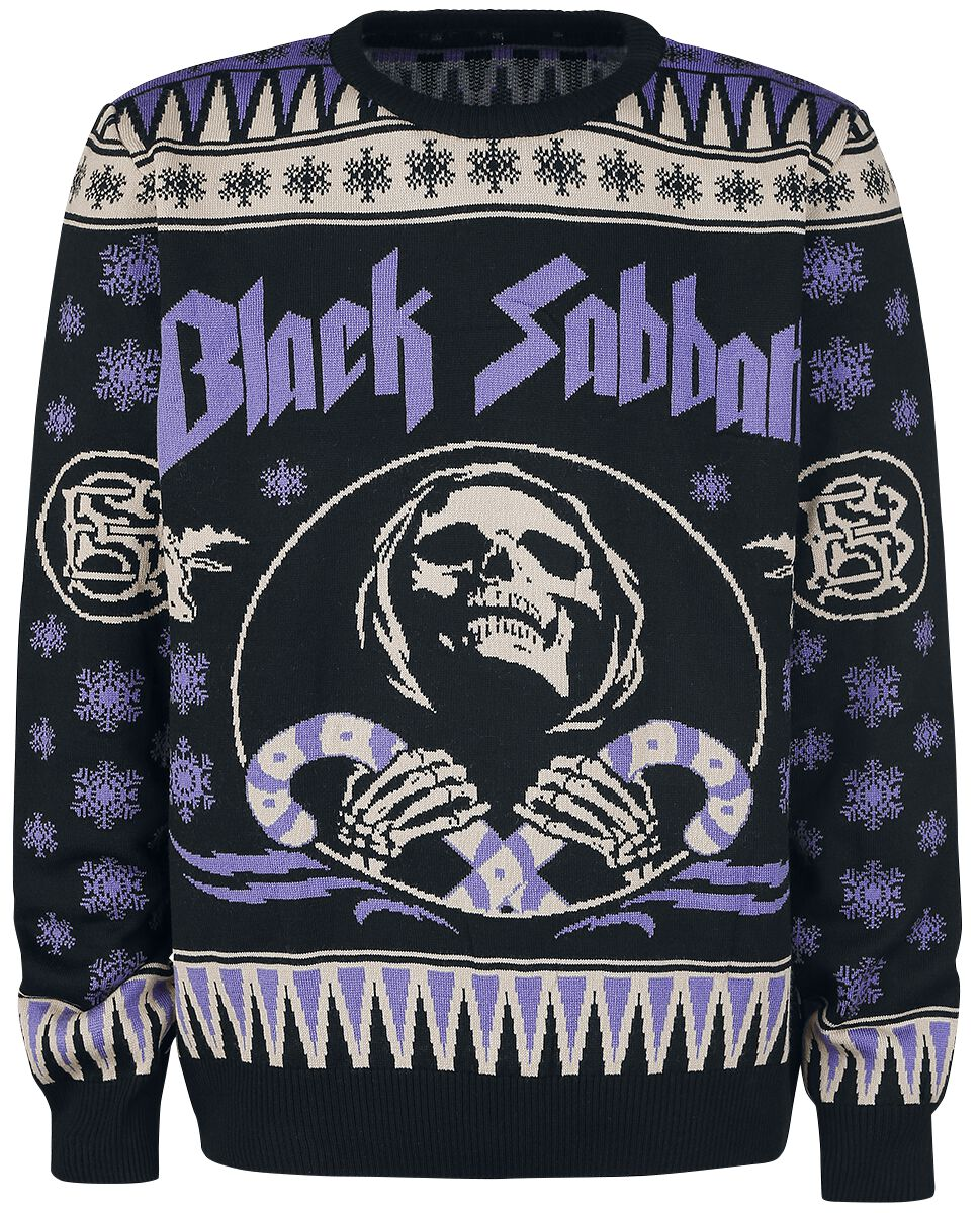 Holiday Sweater | Black Sabbath Weihnachtspullover | EMP