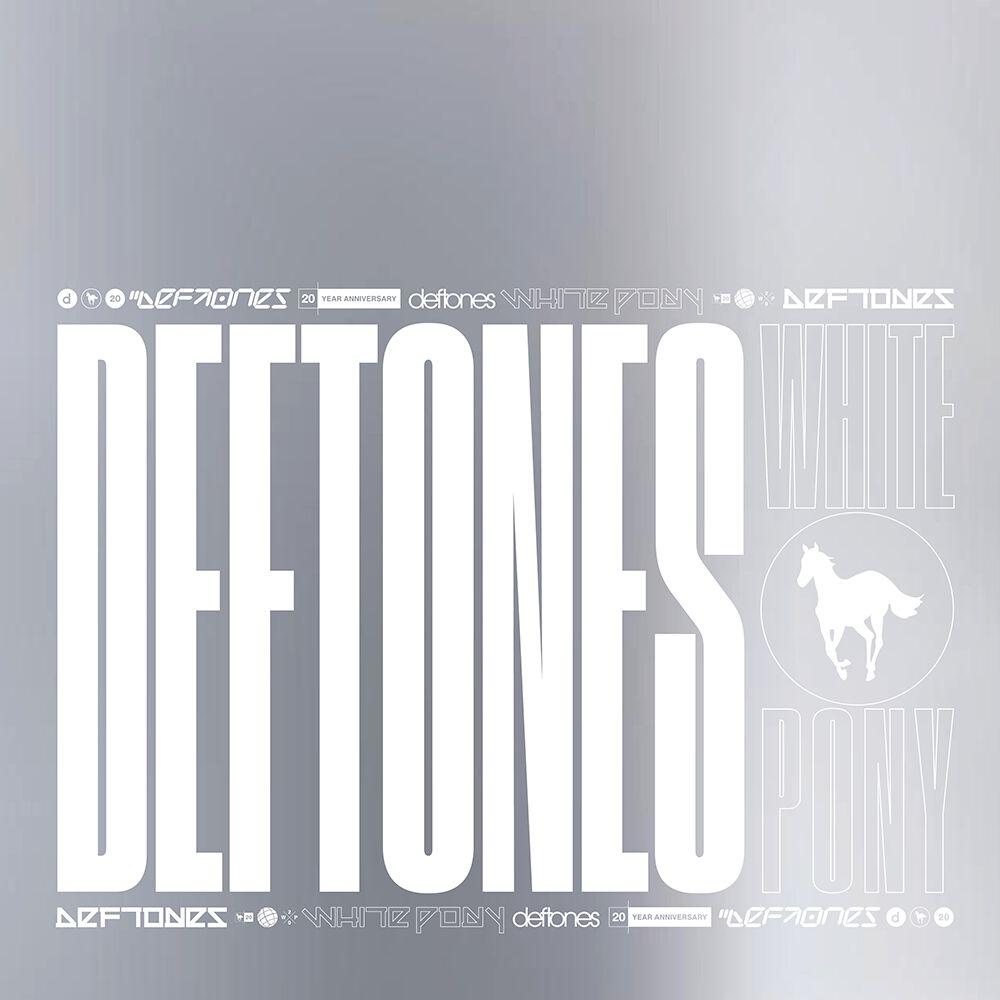 Image of Deftones White Pony (20th anniversary) 4-LP & 2-CD Standard