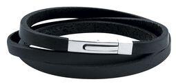Triple String Leather Bracelet