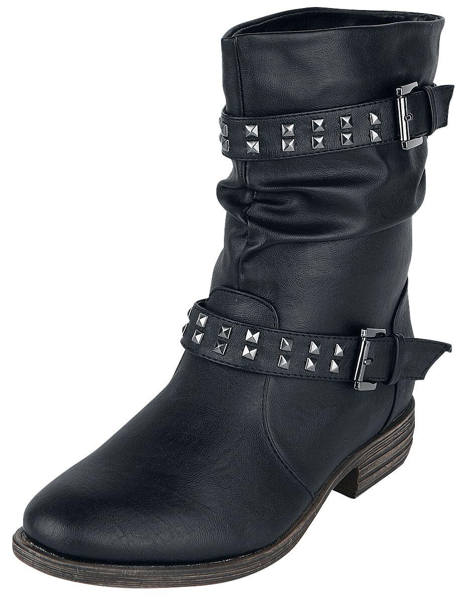 Stiefel - Brandit Ladies Biker Boot Boot schwarz  - Onlineshop EMP