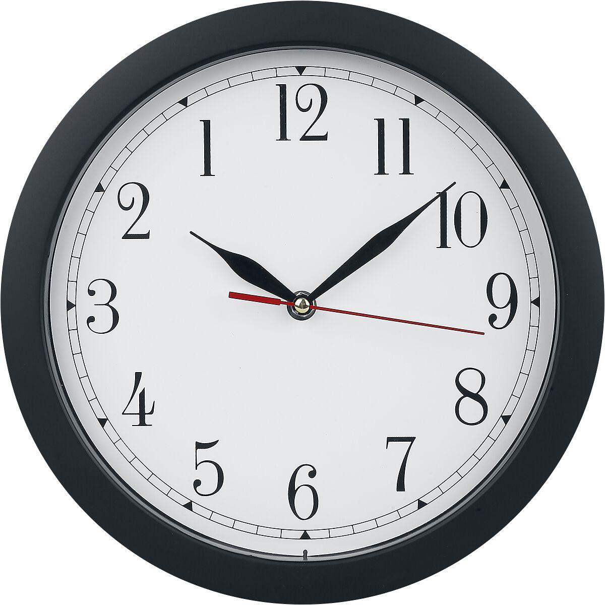 Rückwärtslaufende Uhr   Wanduhr  Standard