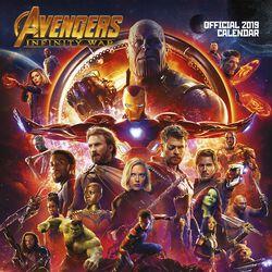 Infinity War - Wandkalender 2019