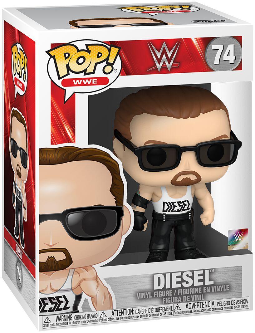 Image of WWE - Diesel (Chase Edition possible) Vinyl Figure 74 - Funko Pop! - Unisex - multicolor